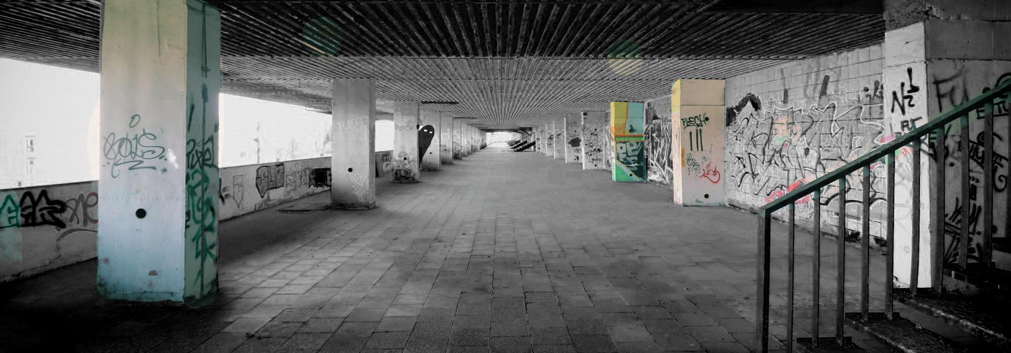 Espacios urbanos poco vigilados